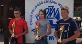 Natalia na najwyższym stopniu podium