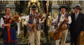 Góralska kapela z Pienin i organy w Jarosławskim Opactwie