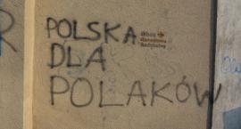 Czy takie napisy w centrum Jarosławia to dobra wizytówka miasta?