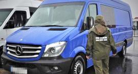 Zatrzymano mercedesa wartego 140 tys. złotych