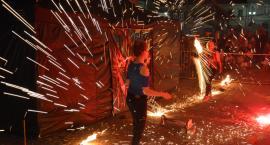 Ogniste zakończenie soboty na Jarmarku Jarosławskim (ZDJĘCIA, WIDEO)
