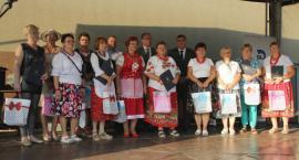 Dożynki gminy Laszki w Wietlinie Trzecim