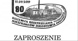 Uroczystości upamiętniające 80. rocznicę rozstrzelania pierwszych mieszkańców Jarosławia podczas II wojny światowej