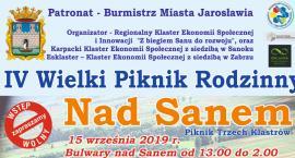 IV Wielki Piknik Rodzinny NAD SANEM już w niedzielę 15 września