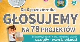 Głosujemy na 78 projektów