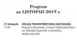 Koleją Transsyberyjską nad Bajkał - wykład w SMJ.
