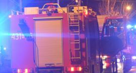 Pożar trocin w silosie w Manasterzu. Akcja gaśnicza trwała blisko dobę