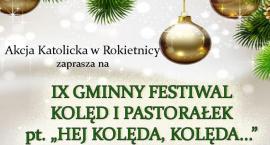 IX Gminny Festiwal Kolęd i Pastorałek pt.