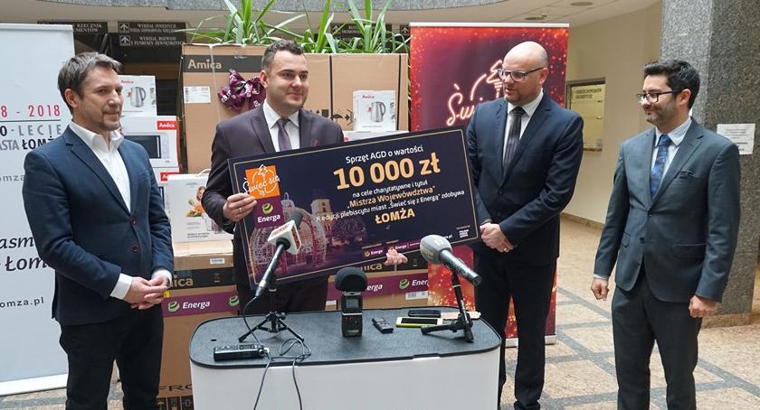 Akcje charytatywne, Świeć Energą Miasto odebrało nagrody [FOTO] - zdjęcie, fotografia