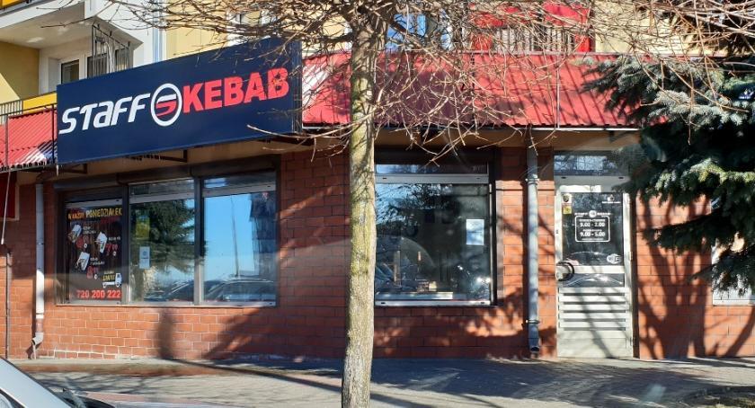 Kronika kryminalna, Burda łomżyńskim kebabie wątek narodowościowy - zdjęcie, fotografia