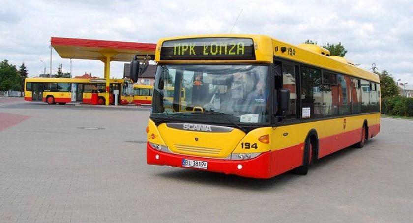 Komunikacja, Nowogrodzka Zawadzka linia autobusowa marca - zdjęcie, fotografia