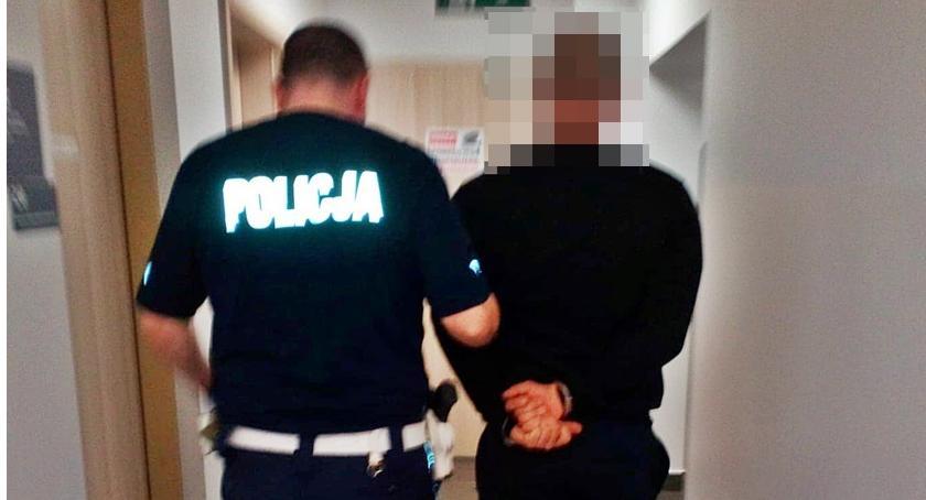 Kronika kryminalna, Policja zatrzymała amatora darmowego paliwa - zdjęcie, fotografia