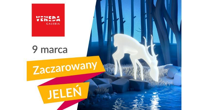 Teatr, Zaczarowany Jeleń Galerii Veneda! - zdjęcie, fotografia
