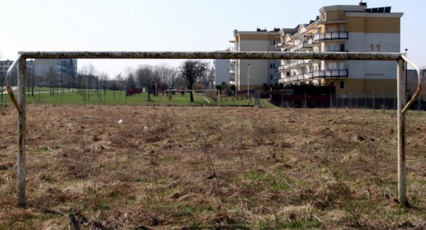 Rekreacja sportowa , Łomża boisko Jedynce ciągu dwóch - zdjęcie, fotografia