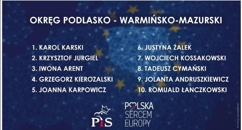 Partie polityczne, Znamy pełną listę kandydatów wyborach Parlamentu Europejskiego - zdjęcie, fotografia