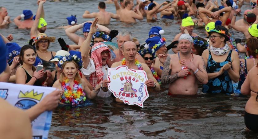 Łomżanie, Morsy Łomży pożegnały sezon Ostrołęce [FOTO] - zdjęcie, fotografia