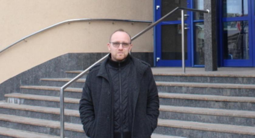 Prezydent Łomży, Łomża naczelnik Urzędzie Miejskim - zdjęcie, fotografia