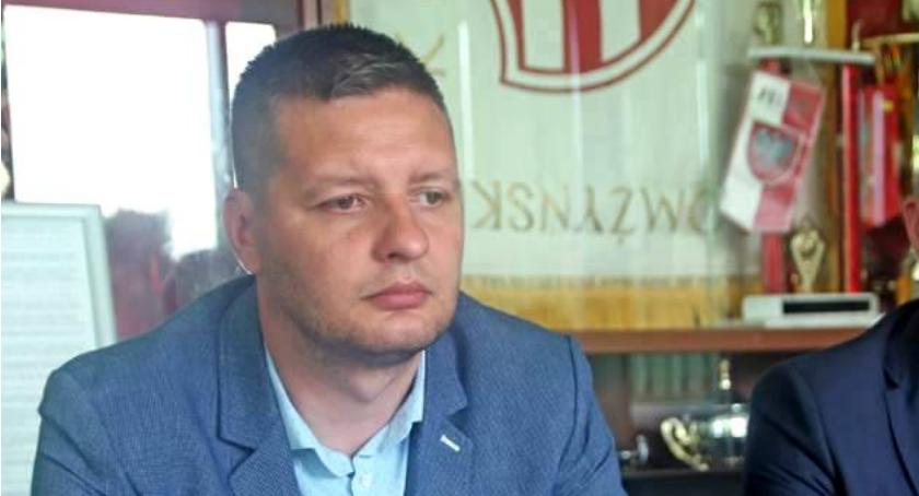 Piłka nożna, Łomża Prezes pozostaje prezesem - zdjęcie, fotografia