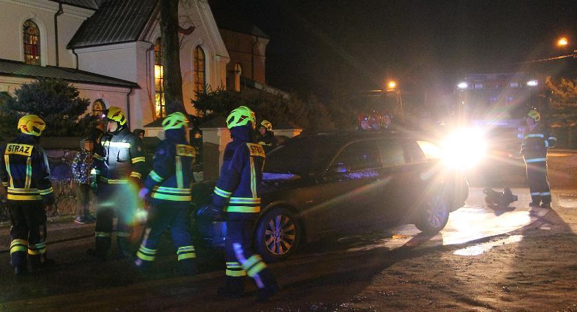 Pożary i interwencje straży, Nowogród zapaliło kościołem [FOTO] - zdjęcie, fotografia