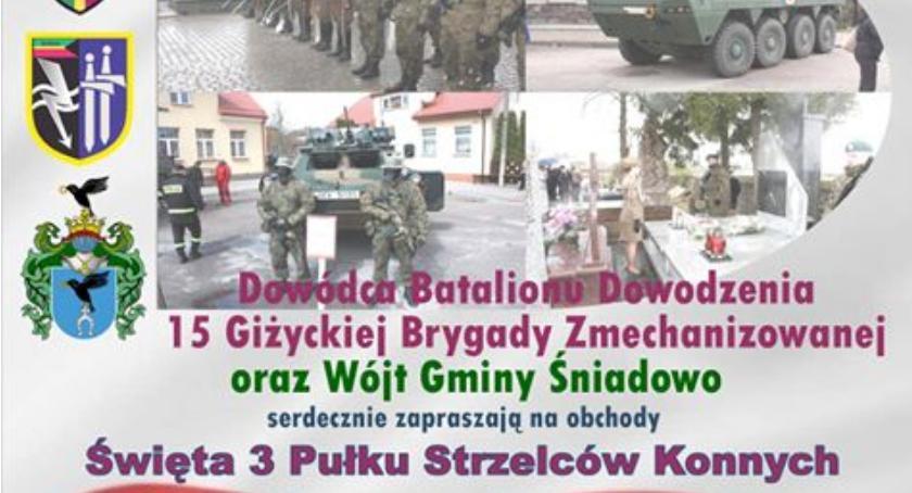 Region, Śniadowo Święto Pułku Strzelców Konnych [PROGRAM] - zdjęcie, fotografia