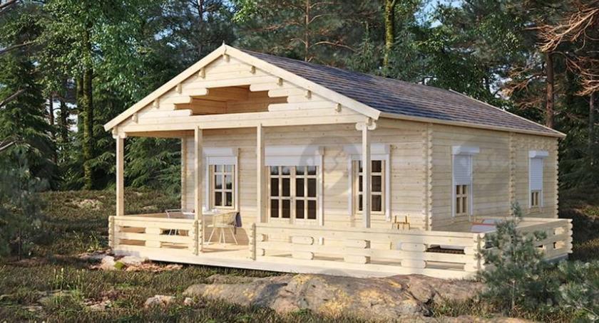 Biznes, Ekologiczne drewniane domki działkowe dostępne każdego - zdjęcie, fotografia