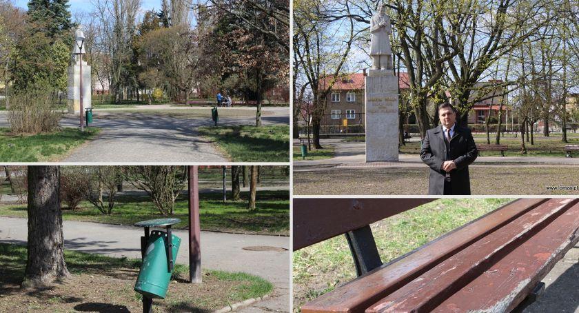 Prezydent Łomży, Będzie renowacja Parku Jakuba - zdjęcie, fotografia