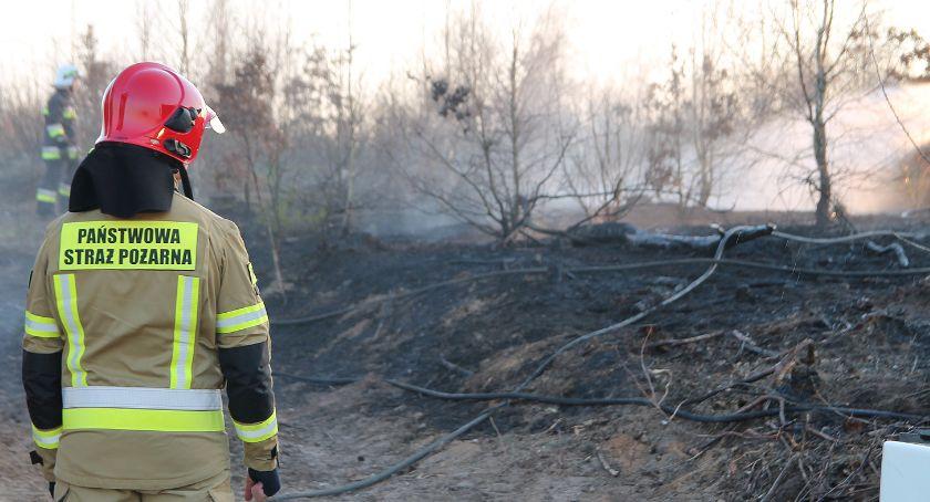 Komunikaty policji , Tragedia Borkowie! Mężczyzna zginął wypalaniu - zdjęcie, fotografia