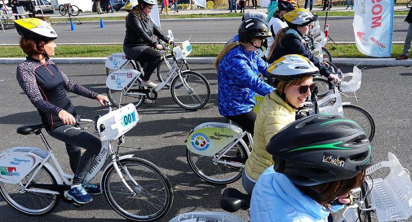 Rowery, Łomża ŁoKeRowy wyścig rowerowy czyli otwarcie sezonu rowerów miejskich - zdjęcie, fotografia