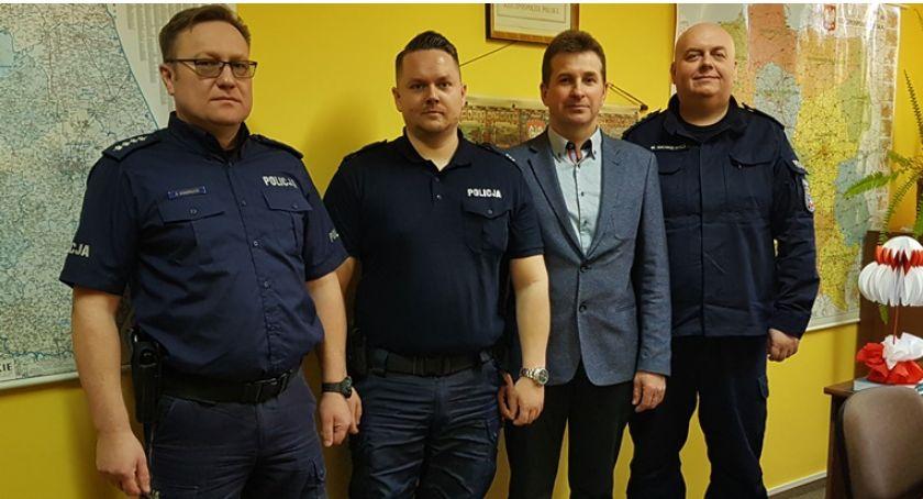 Komunikaty policji , Gmina Przytuły swojego dzielnicowego - zdjęcie, fotografia