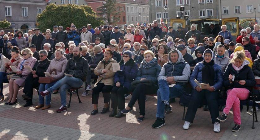 Koncerty, Łomża Zaśpiewali Niepodległej [VIDEO FOTO] - zdjęcie, fotografia
