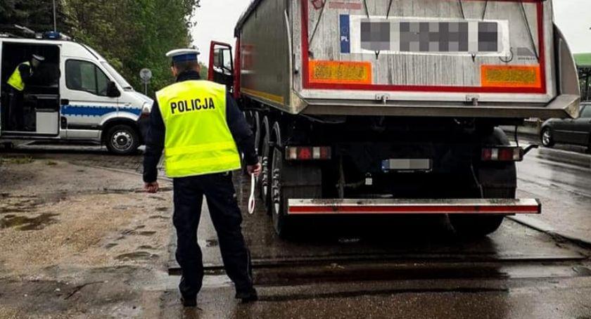Komunikaty policji , Truck&Bus również Łomży [FOTO] - zdjęcie, fotografia
