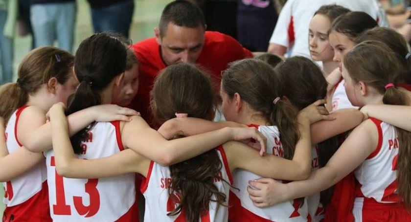 Koszykówka, Czwórka finale Mazowieckiej - zdjęcie, fotografia