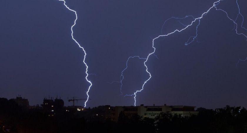 Ostrzeżenia meteo, Burze gradem możliwe również dzisiaj - zdjęcie, fotografia