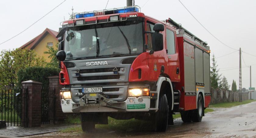 Pożary i interwencje straży, Chaos ulewie Strażacy interweniowali kilkadziesiąt Jeden ranny - zdjęcie, fotografia