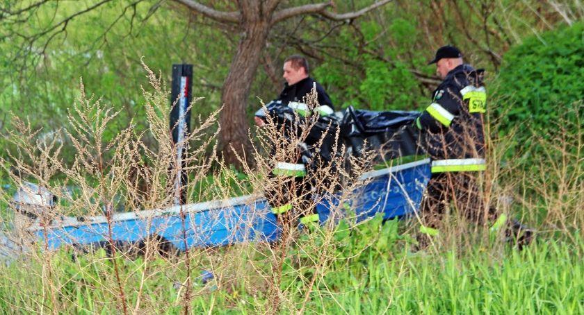 Pożary i interwencje straży, Strażacy wyłowili ciała dwóch mężczyzn! - zdjęcie, fotografia