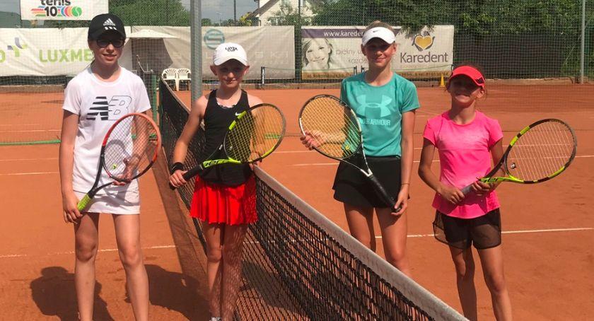 Tenis ziemny tenis stołowy badminton, Udane starty łomżyńskich tenisistów [FOTO] - zdjęcie, fotografia