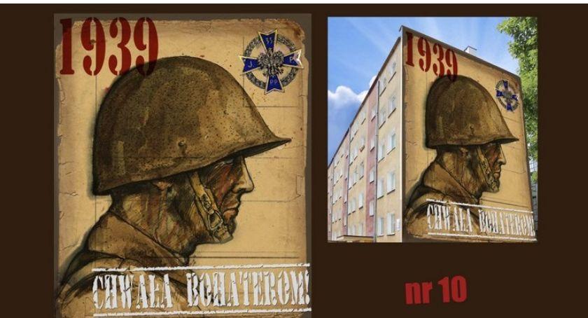 Historia, Łomży powstanie kolejny patriotyczny mural - zdjęcie, fotografia