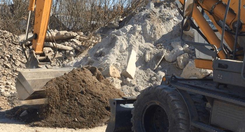 Biznes, Piasek kruszywa transport materiałów budowlanych sprawnie budować Łomży - zdjęcie, fotografia