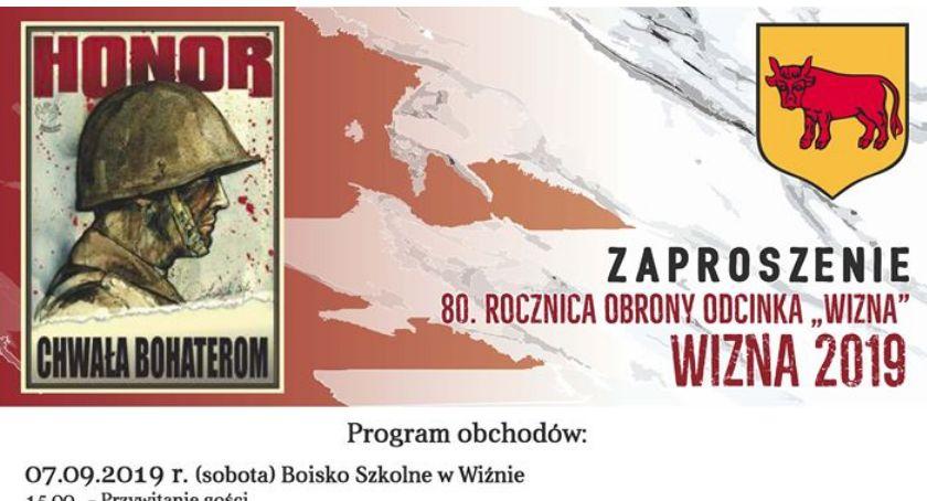 Historia, Zbliża rocznica obrony odcinka Wizna - zdjęcie, fotografia