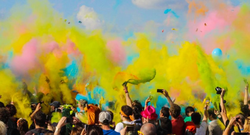 Imprezy, najbliższy piątek kolorowe wspomnienie - zdjęcie, fotografia