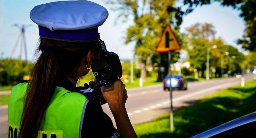 Komunikaty policji , Miastkowo szybko obszarze zabudowanym - zdjęcie, fotografia