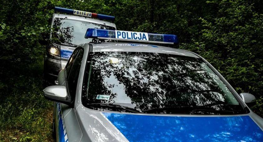 Kronika kryminalna, gminie Piątnica ujawniono zwłoki mieszkańca Łomży - zdjęcie, fotografia