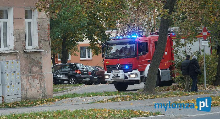 Pożary i interwencje straży, Starsza kobieta szpitalu Uratował czujnik czadu - zdjęcie, fotografia