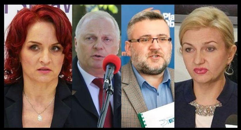 Partie polityczne, głosowaliśmy Łomży powiecie łomżyńskim - zdjęcie, fotografia