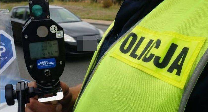 Komunikaty policji , Przekroczyli prędkość obszarze zabudowanym - zdjęcie, fotografia