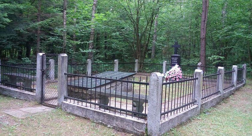 Historia, Odnowią cmentarz leśny Jeziorku [FOTO] - zdjęcie, fotografia