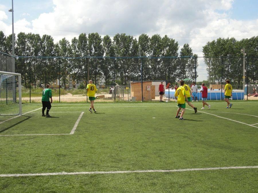 Rekreacja sportowa , Startuje Miejskiej Piłki Nożnej - zdjęcie, fotografia