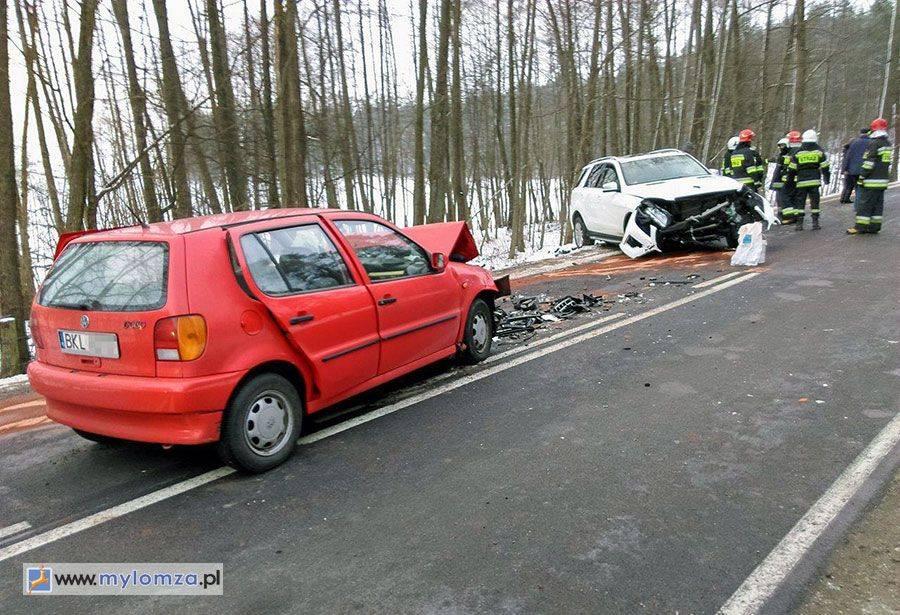 Region, Wypadek Kisielnicą Droga Kolno zablokowana [FOTO] - zdjęcie, fotografia
