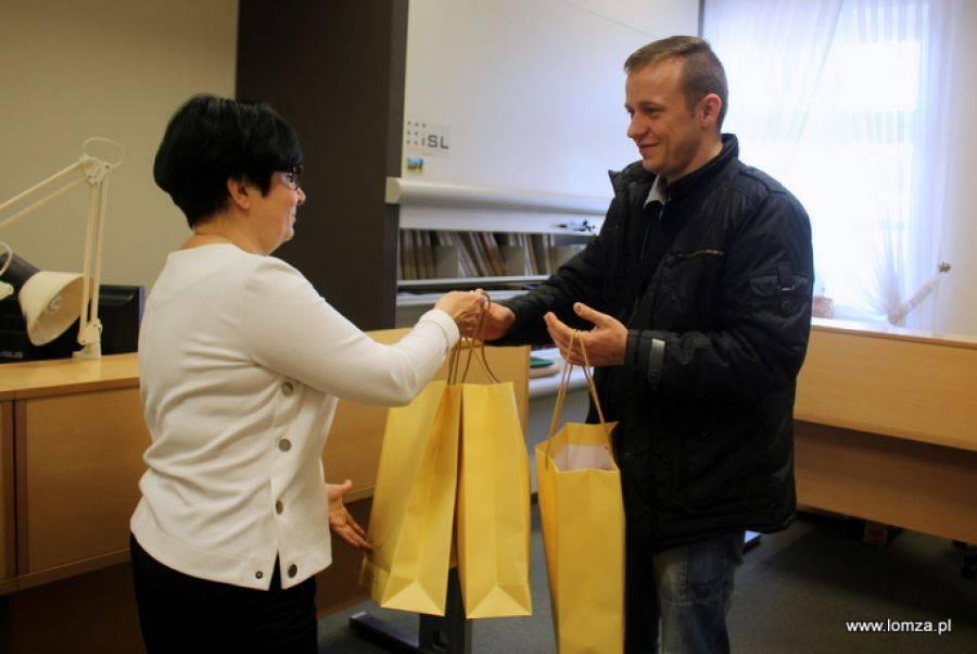 Łomża, Szczęśliwy zarejestrował trojaczki [FOTO] - zdjęcie, fotografia