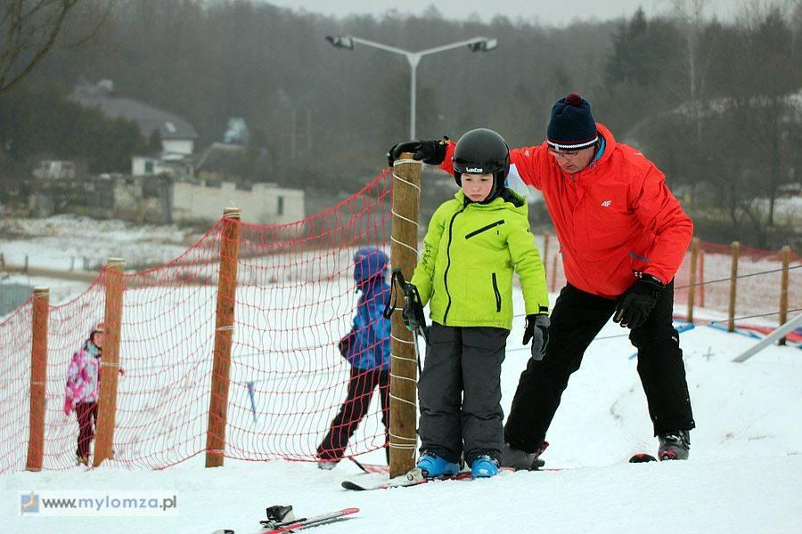 Sport, udział zawodach narciarskich - zdjęcie, fotografia